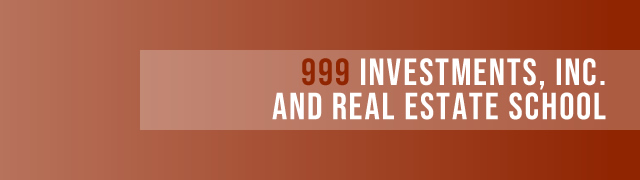 999 Investments Realty & Real Estate School | Training Center